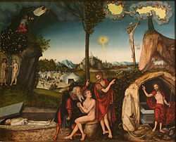 250px-Lucas_Cranach_(I)_-_The_Law_and_the_Gospel