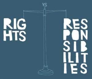 Tiesības pienākumi